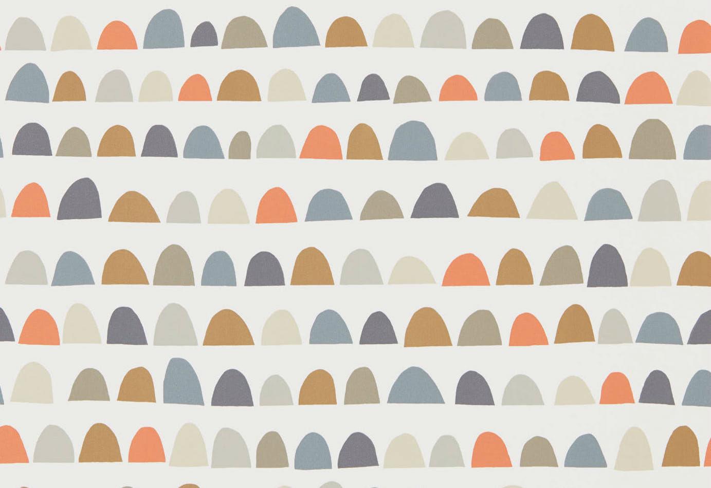 Tienda online telas papel papel pared media luna paprika - Papel pared online ...