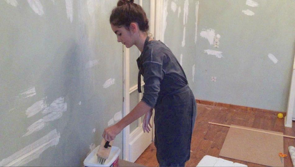 Como colocar papel pintado free with como colocar papel for Colocar papel pintado
