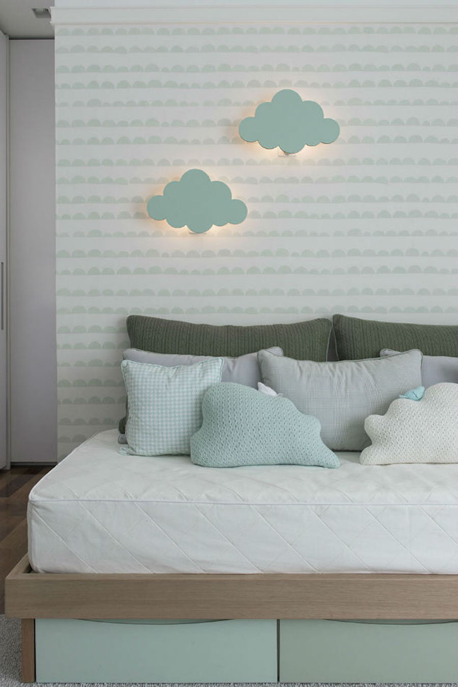 Tienda online telas papel dulce dormitorio de bebe for Papel para pared dormitorio