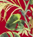 papel-juego-de-monos-rojo
