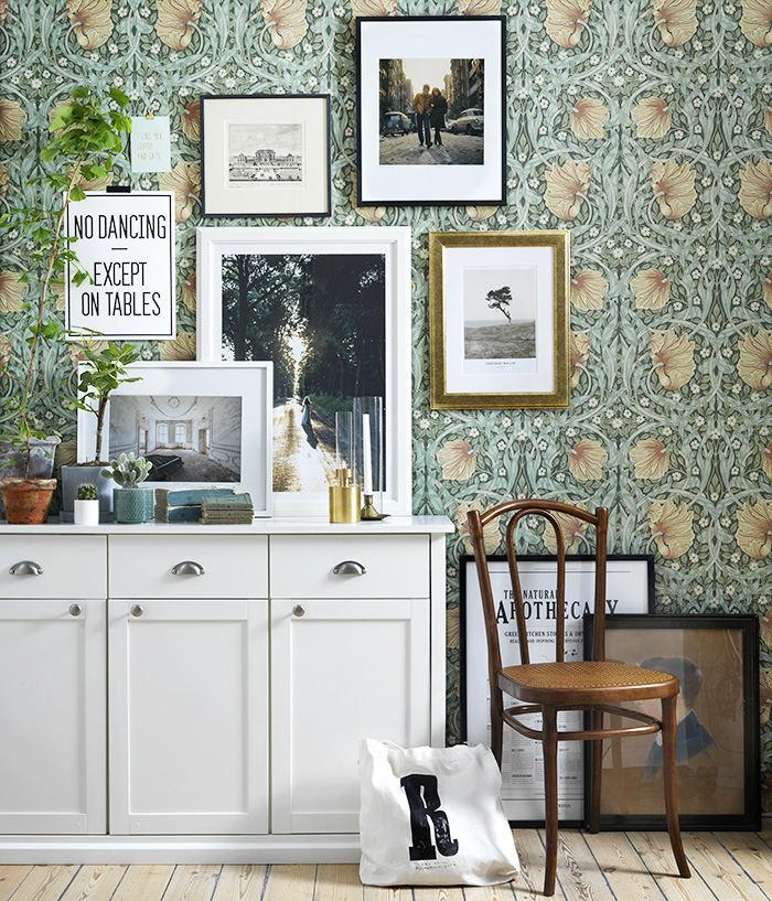 Tienda online telas papel papeles pintados de - Papeles pintados vintage ...