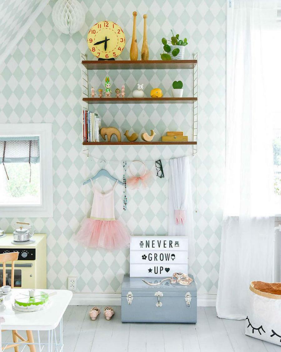Tienda online telas papel el papel pintado de rombos Papeles vinilicos para dormitorios