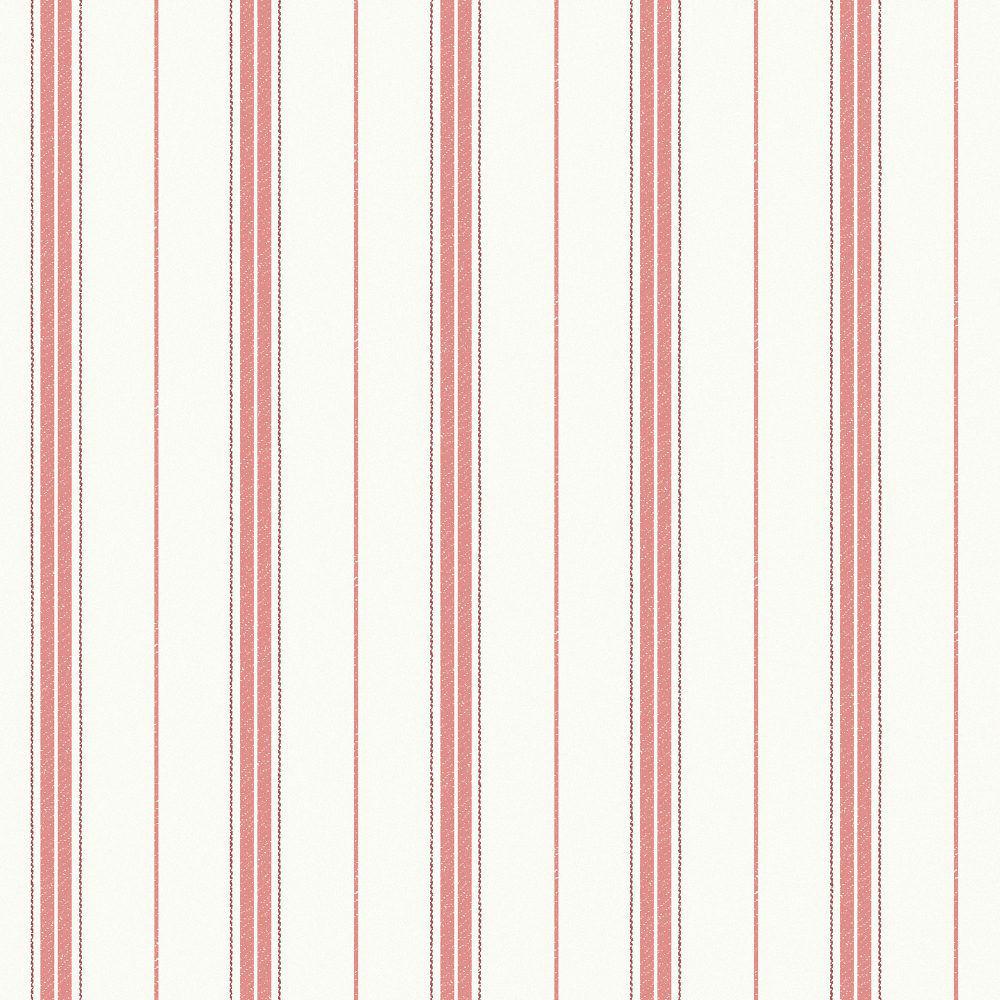 Tienda online telas papel papel pared rayas nils rojas - Papel pared rayas verticales ...