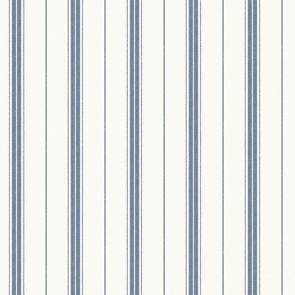 Tienda online telas papel papel pared rayas nils azules - Papel pared rayas ...