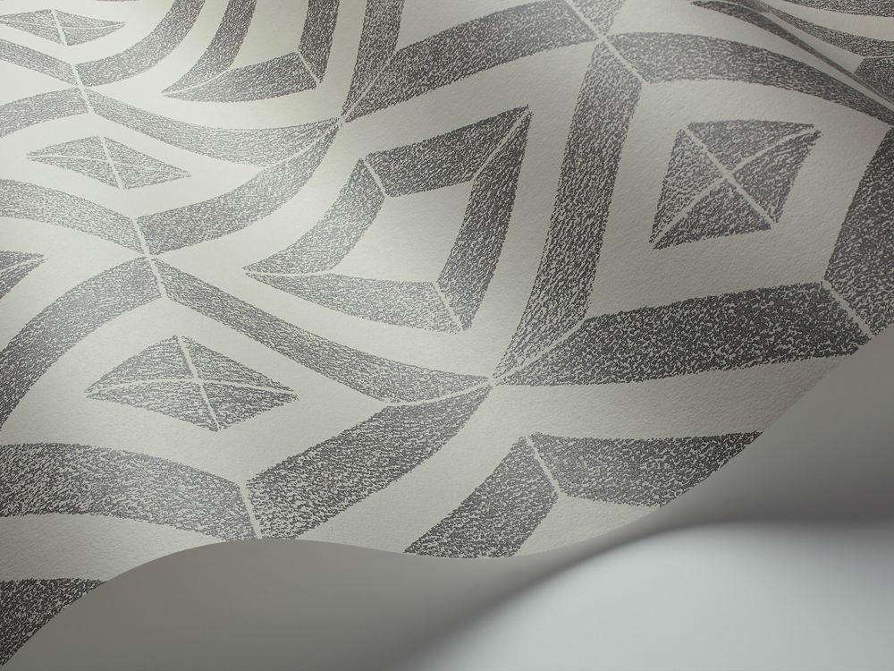 Tienda online telas papel papel pintado diamante carbon - Papel pintado online ...