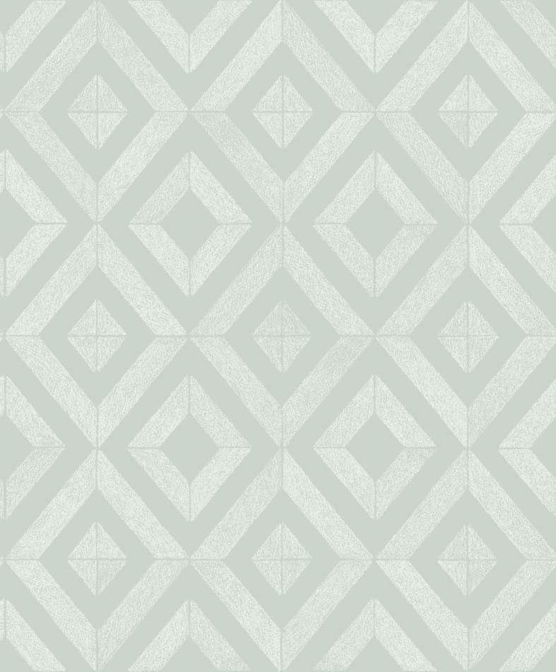 Tienda online telas papel papel pintado diamante verde - Papel pintado online ...