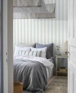 Tienda online telas papel papel pintado rayas - Papel de pared de rayas ...