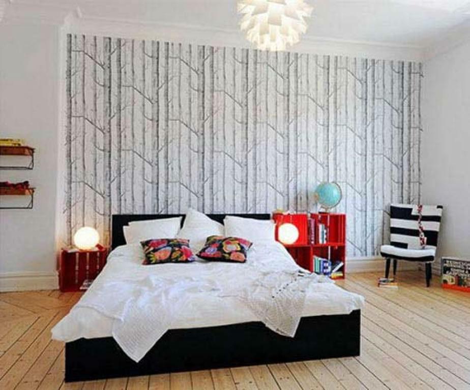 Tienda online telas papel empapelar una sola pared - Empapelar una pared ...
