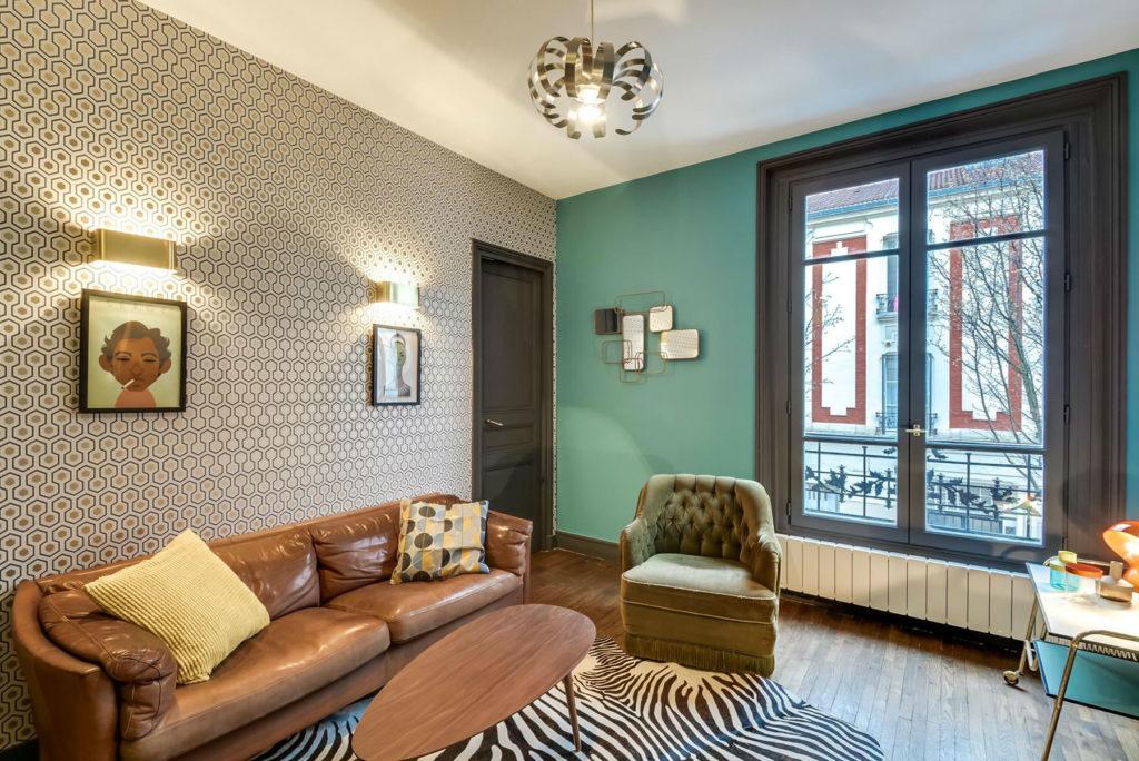 Papel pintado salones decoracion top papel para decorar - Papel para salones ...
