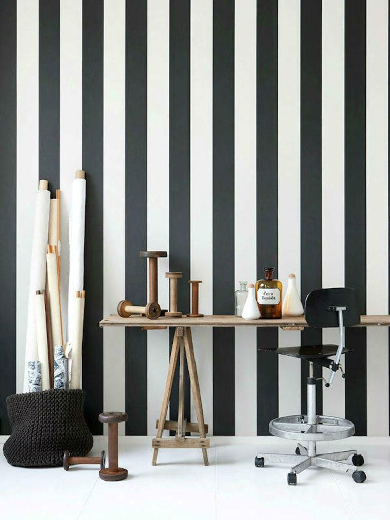 Tienda online telas papel nuestros papeles pintados for Papel pintado rayas verticales catalogo