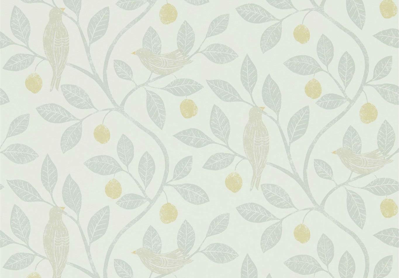 Tienda online telas papel papel pintado arbol ciruelo - Papel pintado online ...