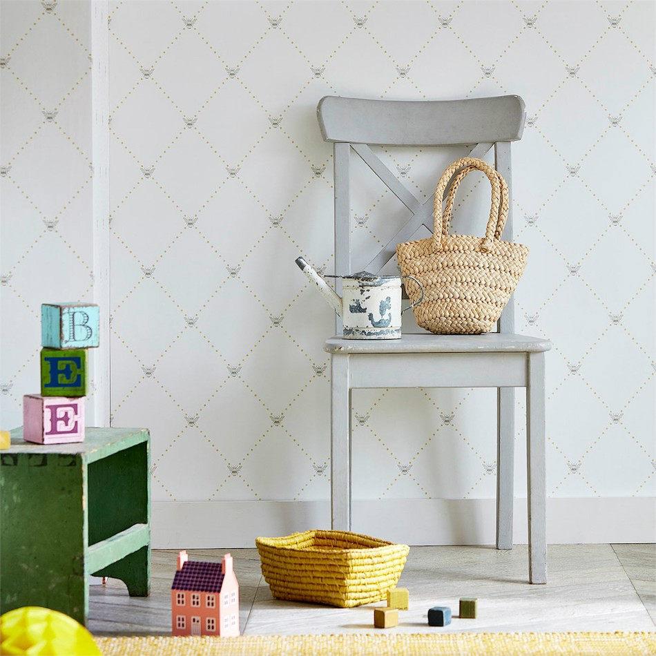 Tienda online telas papel papel pintado trellis - Papel pintado online ...