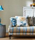 algodon-rayas-vivero-salon sofa