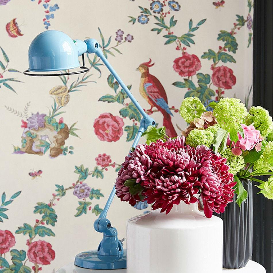 Tienda online telas papel papel pintado darwin hueso - Papel pintado online ...