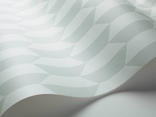 Tienda online telas papel papel peque os azulejos verdes for Papel pintado de los 70