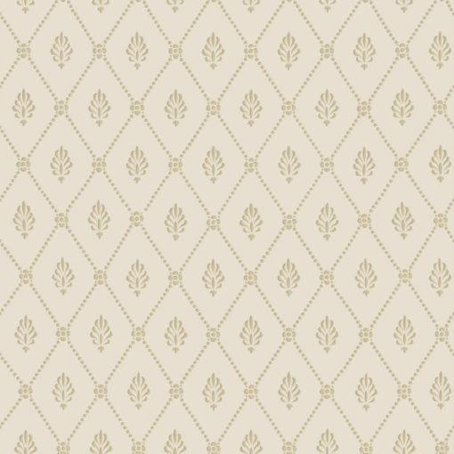 Tienda online telas papel papel diamantes alma dorado for Papel pintado de los 70